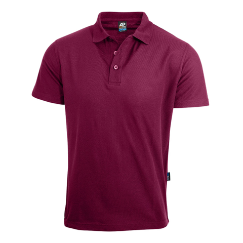 Image of Womens Hunter Polo - Colour Maroon