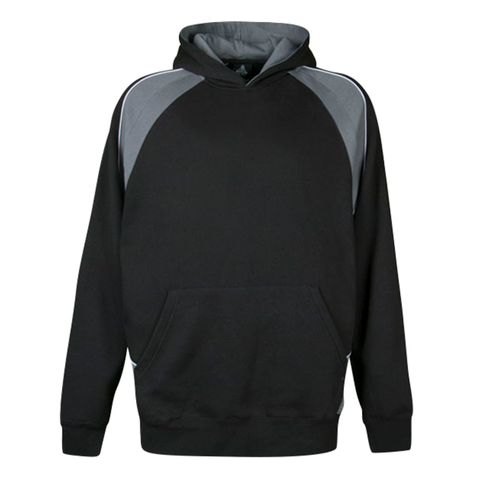 Image of Kids Huxley Hoodie, Colours: Black / Ashe / White
