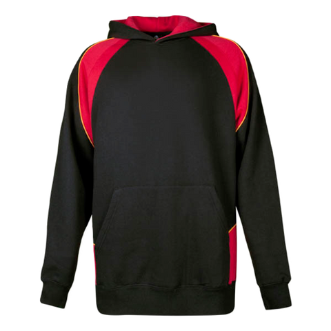 Kids Huxley Hoodie, Colours: Black / Red / Gold