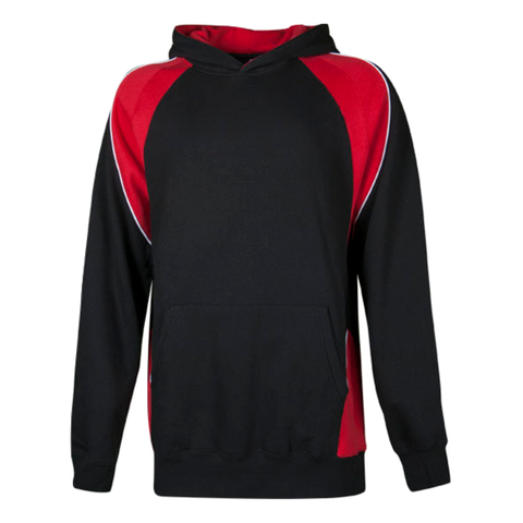 Kids Huxley Hoodie, Colours: Black / Red / White