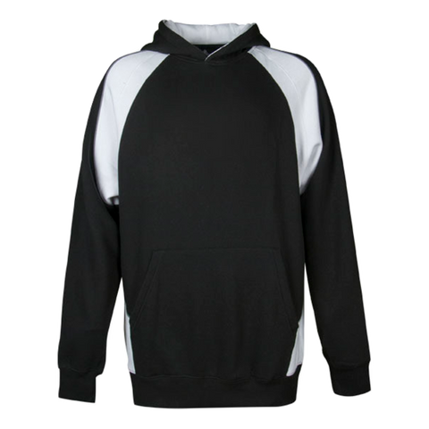 Image of Kids Huxley Hoodie, Colours: Black / White / Ashe