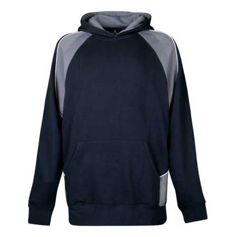 Kids Huxley Hoodie, Colours: Navy / Ashe / White