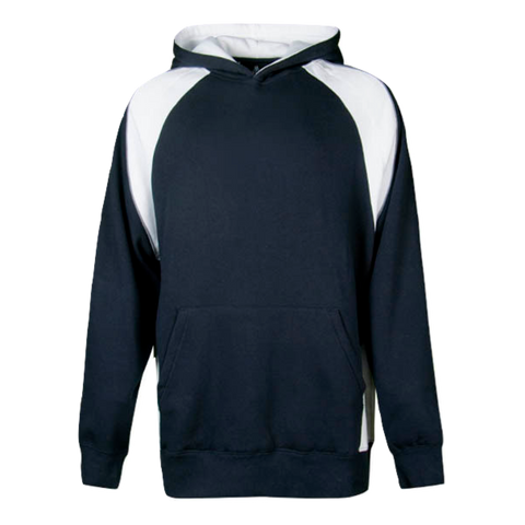 Kids Huxley Hoodie - Colours Navy / White / Ashe