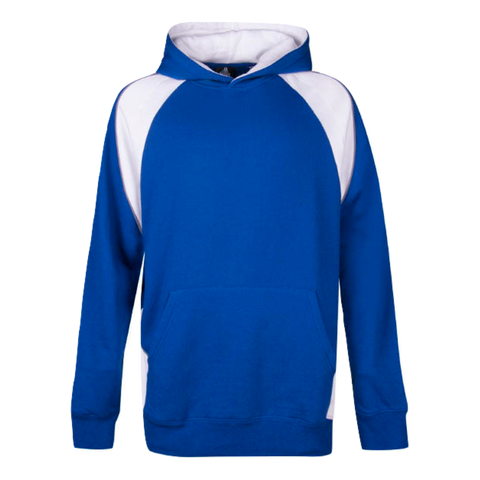 Image of Kids Huxley Hoodie, Colours: Royal / White / Ashe