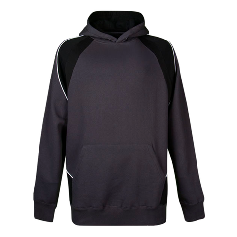 Image of Kids Huxley Hoodie - Colours Slate / Black / White