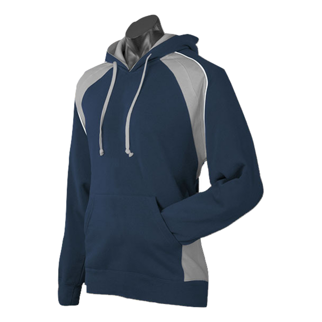 Mens Huxley Hoodie - Colours Navy / Ashe / White