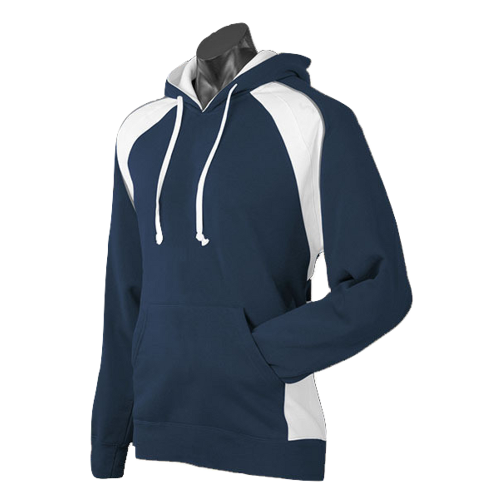 Mens Huxley Hoodie - Colours Navy / White / Ashe