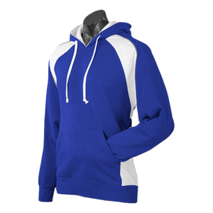 Mens Huxley Hoodie - Colours Royal / White / Ashe
