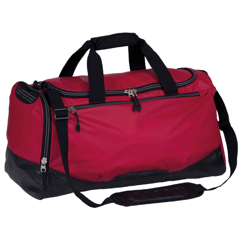 Hydrovent Sports Bag, Colours: Red / Black
