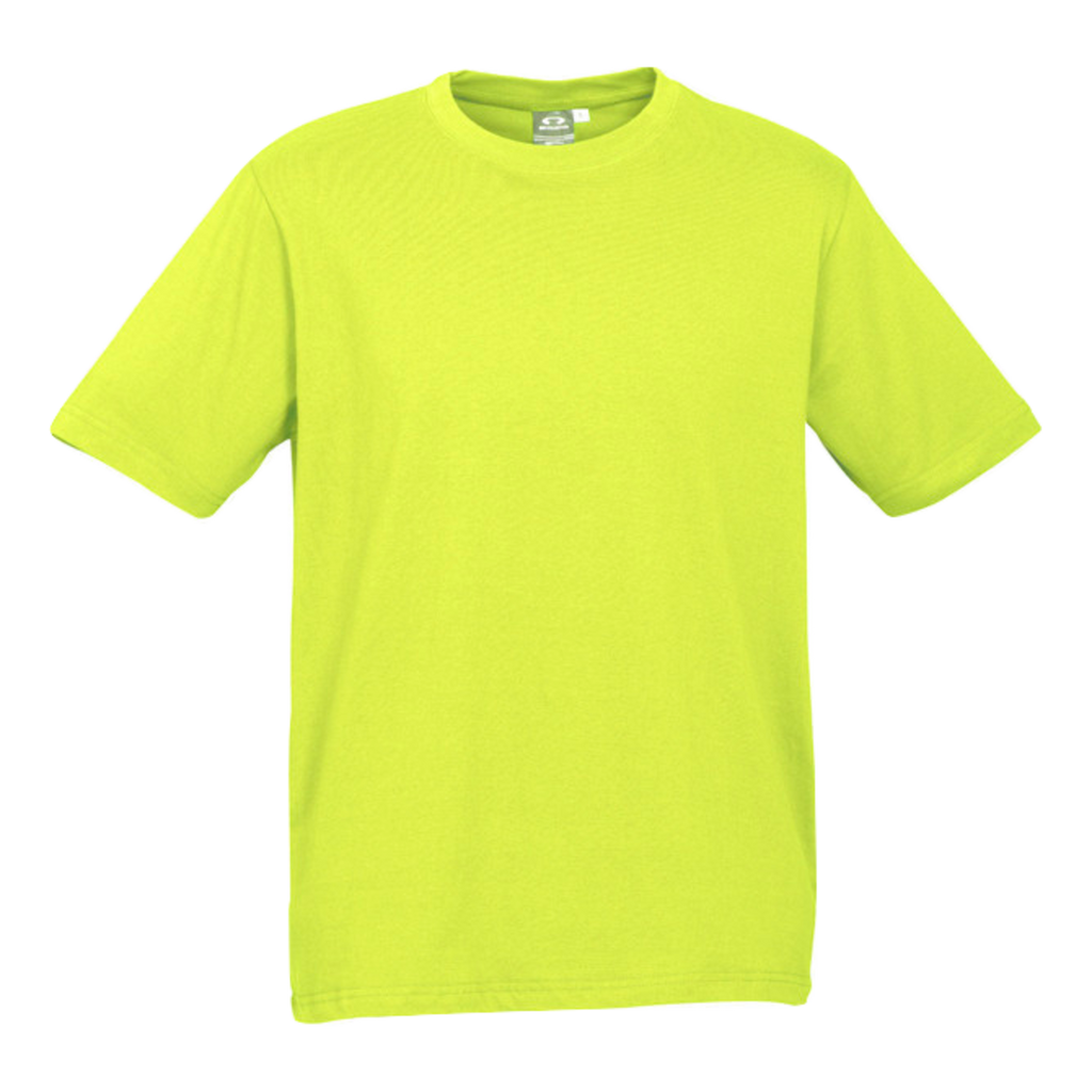 Kids Ice Tee - Colour Fl Yellow