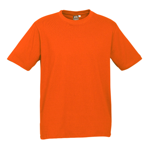 Image of Mens Ice Tee - Colour Fl Orange