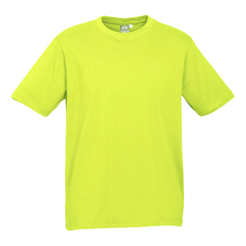 Image of Mens Ice Tee - Colour Fl Yellow