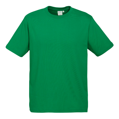Image of Mens Ice Tee - Colour Kelly Green