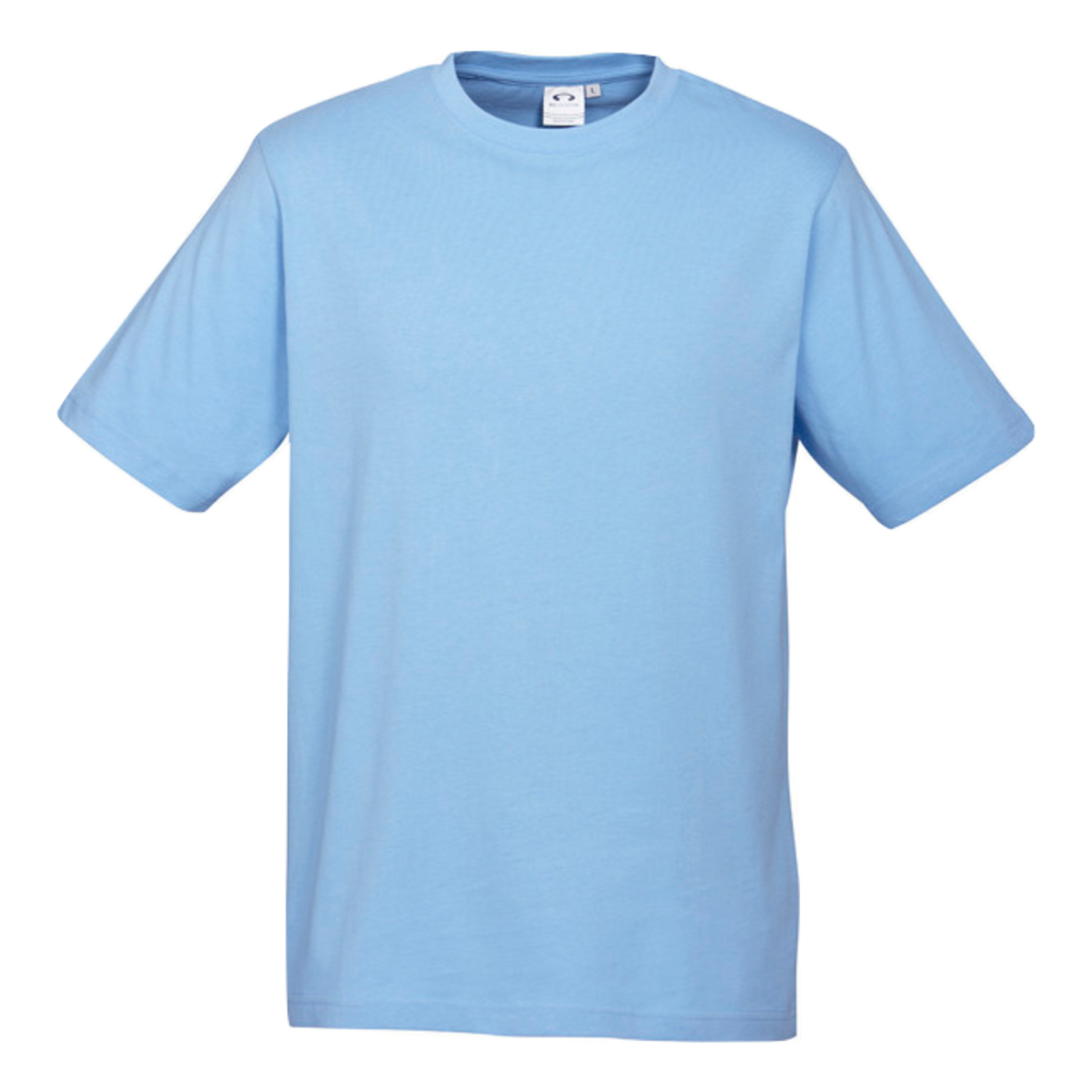 Mens Ice Tee - Colour Spring Blue