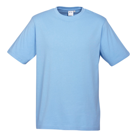 Image of Mens Ice Tee - Colour Spring Blue