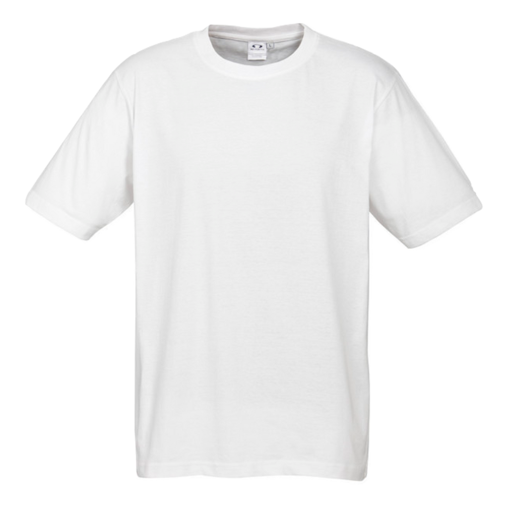 Mens Ice Tee - Colour White