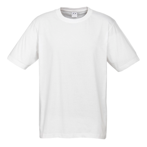 Image of Mens Ice Tee - Colour White