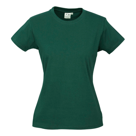 Image of Womens Ice Tee - Colour Forest