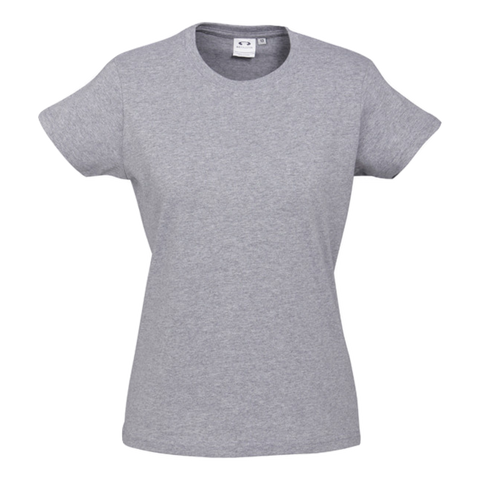 Womens Ice Tee - Colour Grey Marle