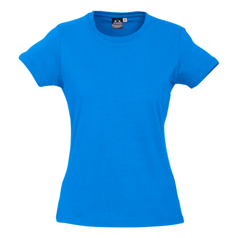 Image of Womens Ice Tee - Colour Neon Cyan