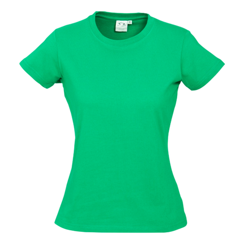 Image of Womens Ice Tee - Colour Neon Green
