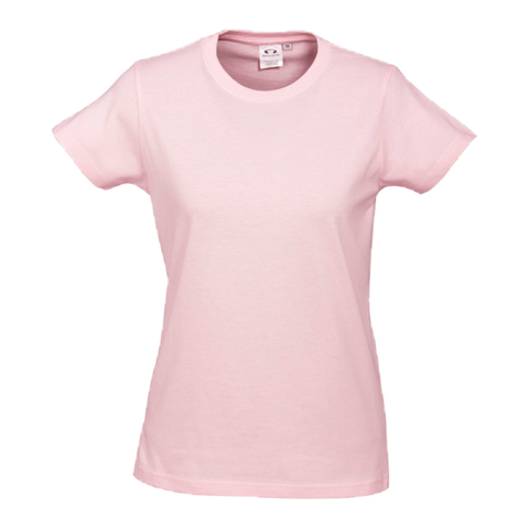 Image of Womens Ice Tee - Colour Pink