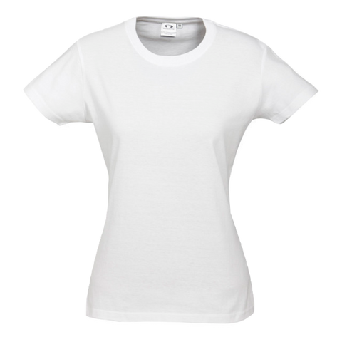 Womens Ice Tee - Colour White