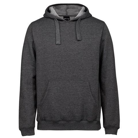 JBs Pop Over Hoodie, Colour: Charcoal Marle