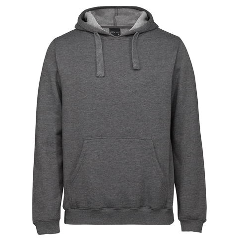 JBs Pop Over Hoodie, Colour: Graphite Marle