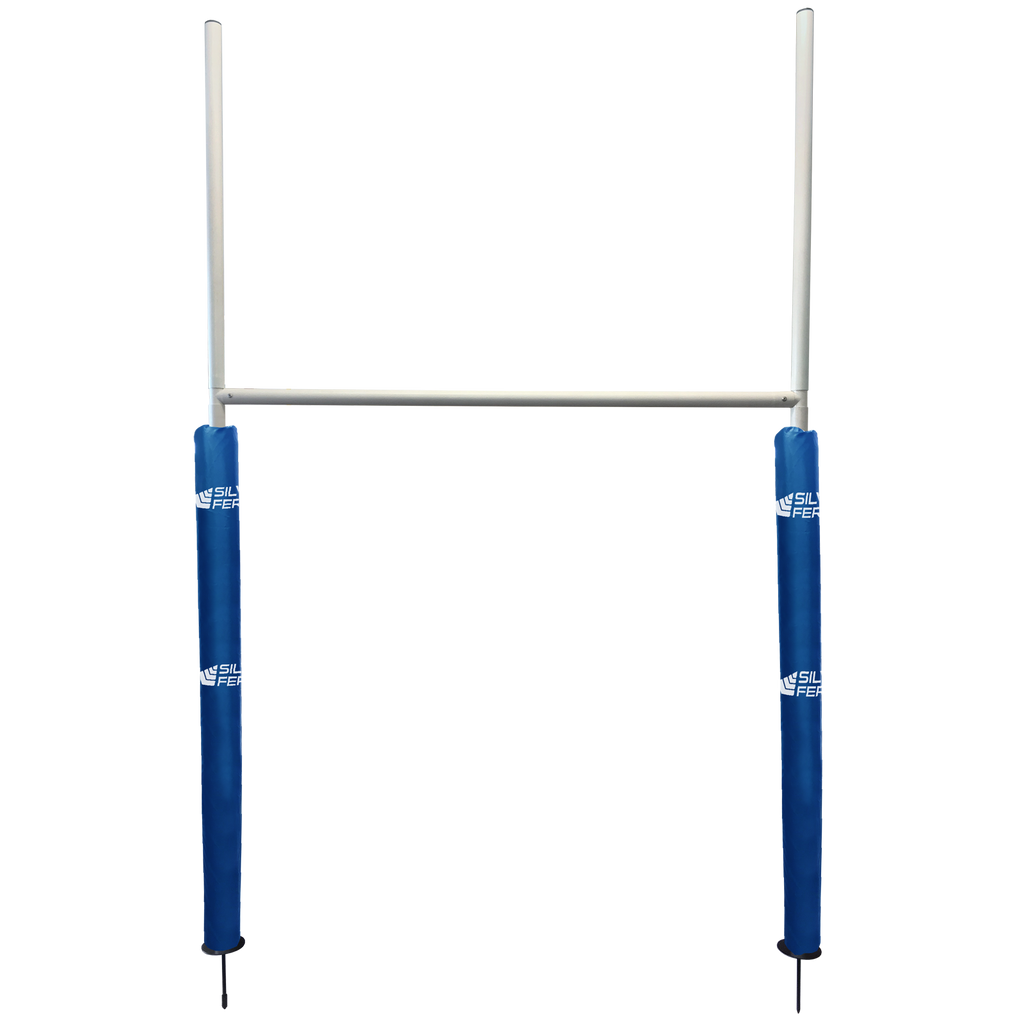 Junior Goal Post (x1) with Pads - Pads Colour Black