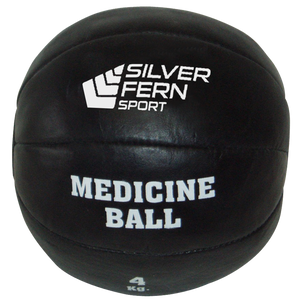 Leather Medicine Ball - Weight 10 kg