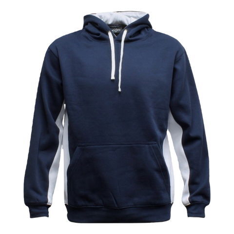 Image of Adults Matchpace Hoodie, Colours: Navy / White