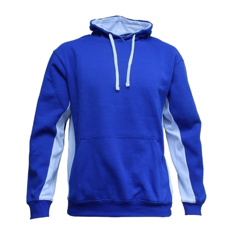 Adults Matchpace Hoodie, Colours: Royal / White