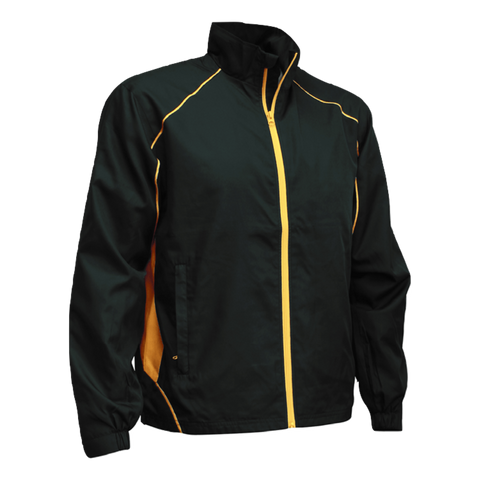 Image of Adults Matchpace Jacket - Colours Black / Gold
