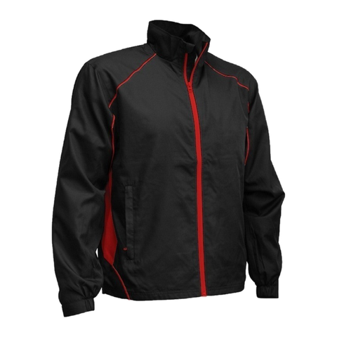 Image of Adults Matchpace Jacket - Colours Black / Red