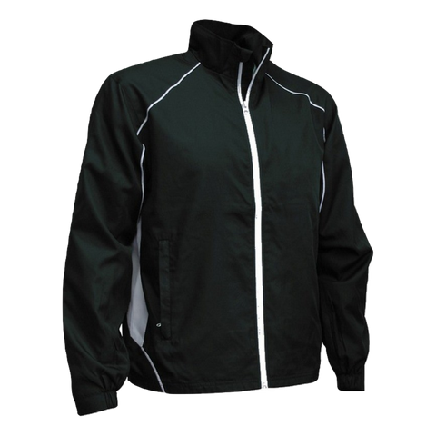Image of Adults Matchpace Jacket - Colours Black / White