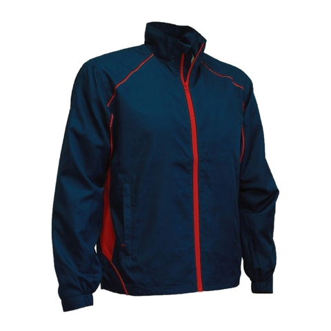 Image of Adults Matchpace Jacket - Colours Navy / Red