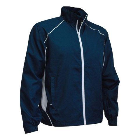 Image of Adults Matchpace Jacket - Colours Navy / White