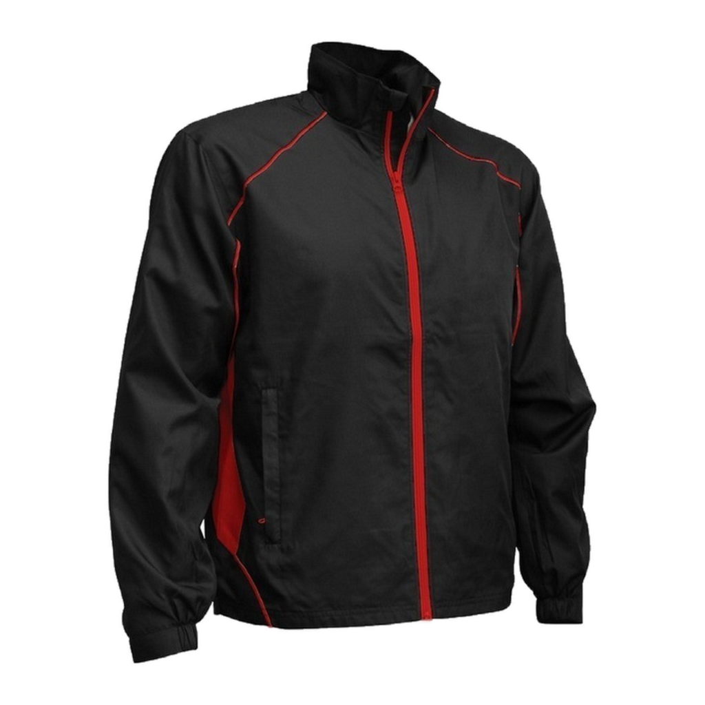 Kids Matchpace Jacket, Colours: Black / Red