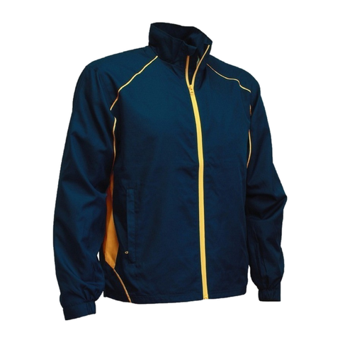 Image of Kids Matchpace Jacket, Colours: Navy / Gold