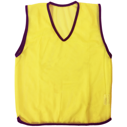 Mesh Training Singlet - Size XXL (77 x 73 cm) - Colour Yellow