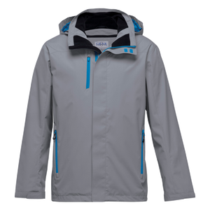 Nordic Jacket, Colours: Aluminium / Cyber Blue
