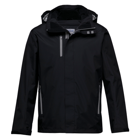 Image of Nordic Jacket - Colours Black / Aluminium