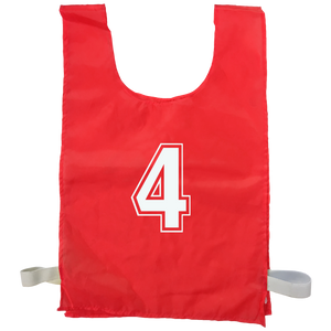 Numbered Sports Bibs - 15 Set