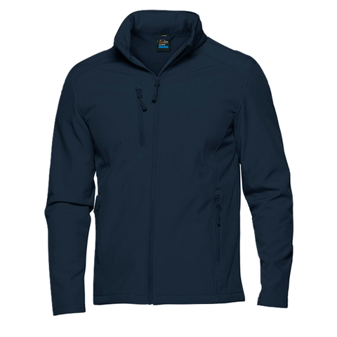 Kids Olympus Softshell Jacket - Colour Navy