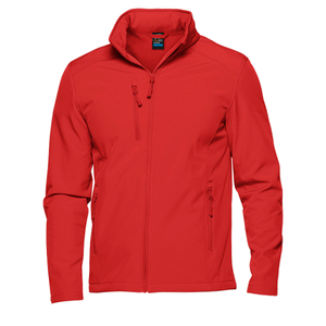 Kids Olympus Softshell Jacket - Colour Red