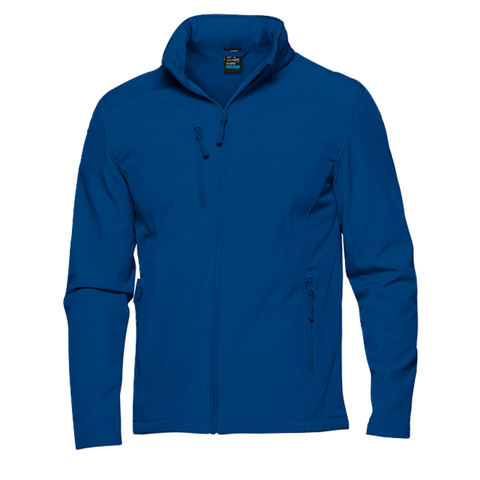 Kids Olympus Softshell Jacket - Colour Royal