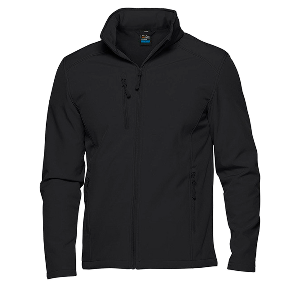 Mens Olympus Softshell Jacket, Colour: Black