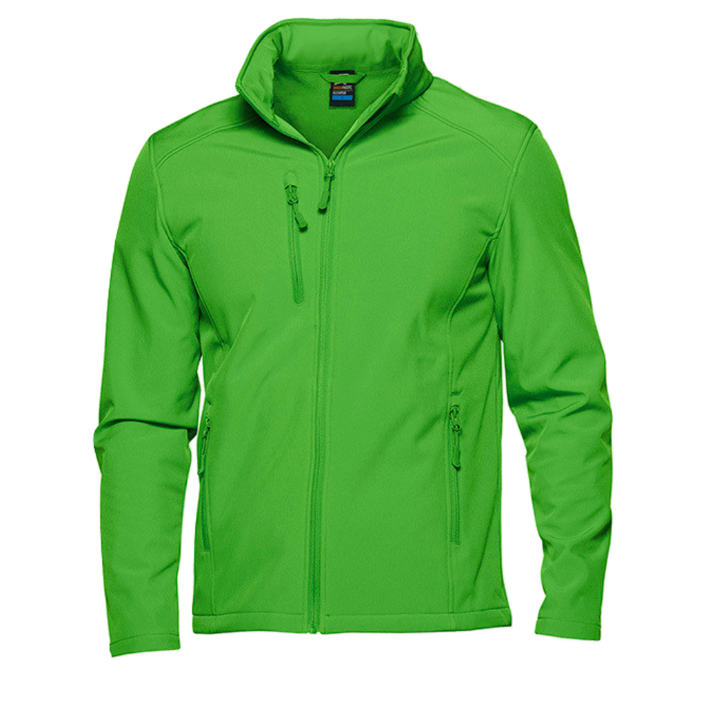 Mens Olympus Softshell Jacket, Colour: Green