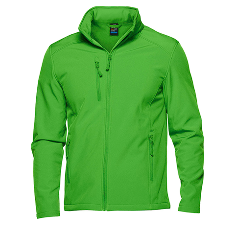 Image of Mens Olympus Softshell Jacket, Colour: Green